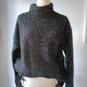 Never worn oversized funnel neck sweater